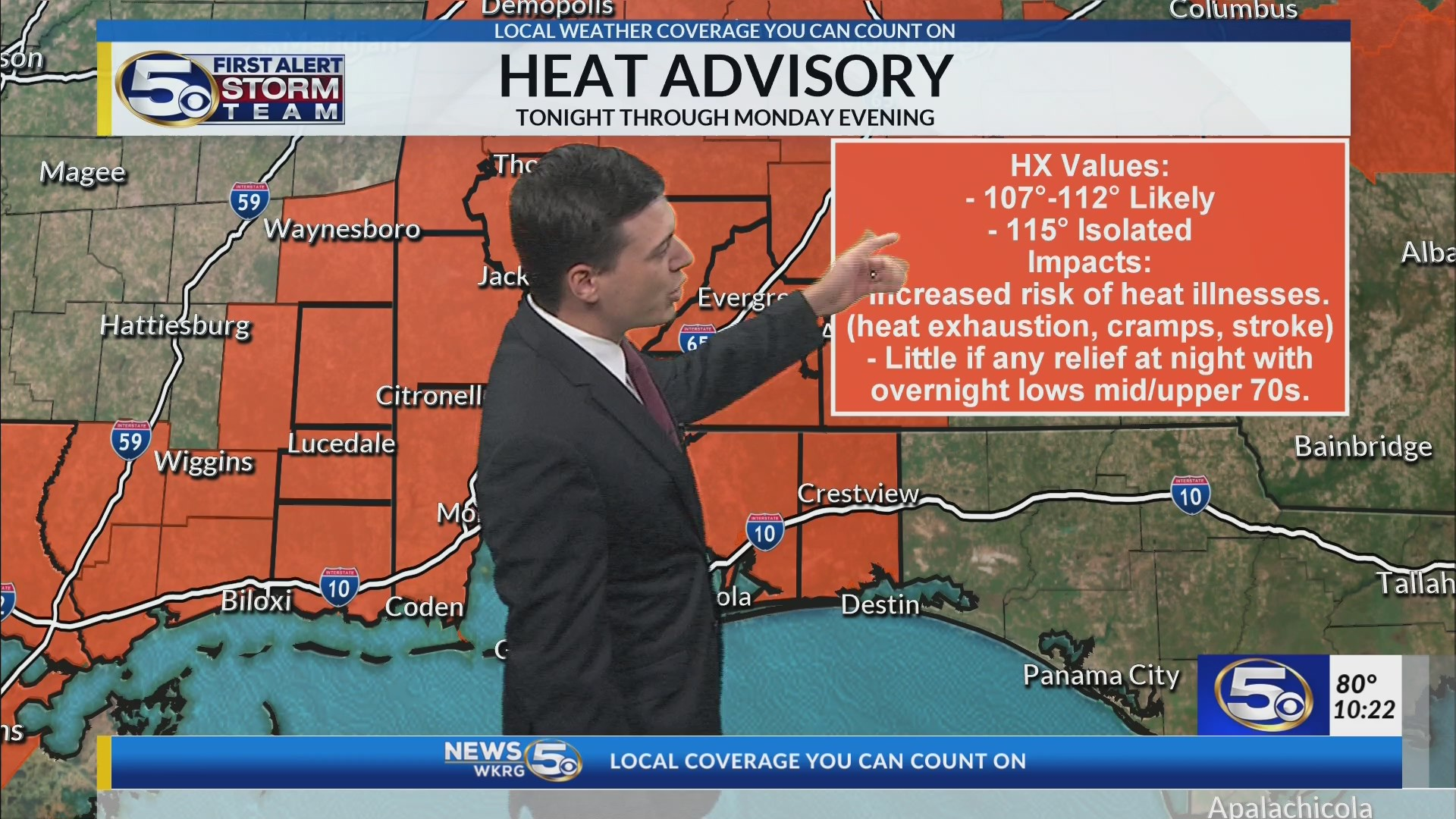 WKRG | Extended Forecast