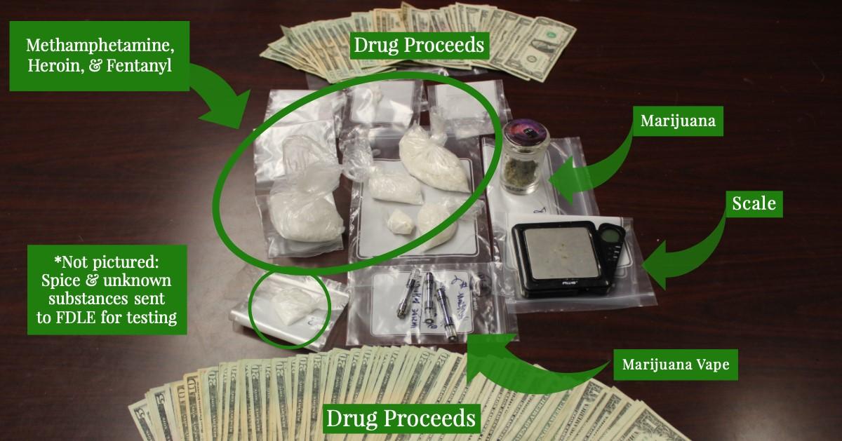 Five arrested in drug raid – WKRG News 5