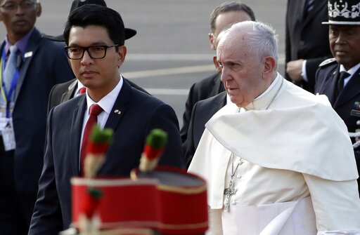 Pope denounces exploitation of Madagascar's unique resources