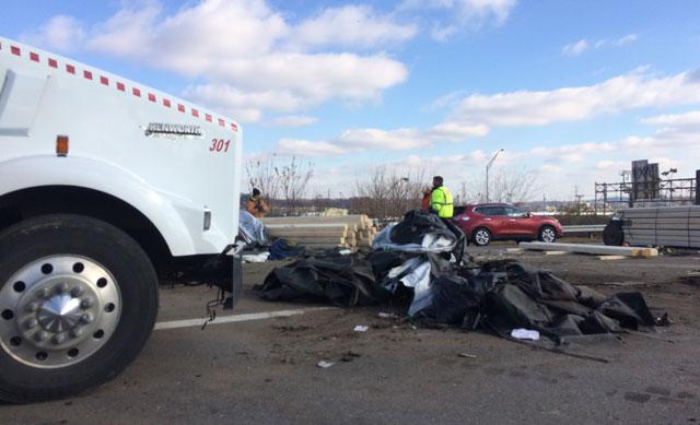 Semi crash closes lanes of I-24, I-40 East south of downtown