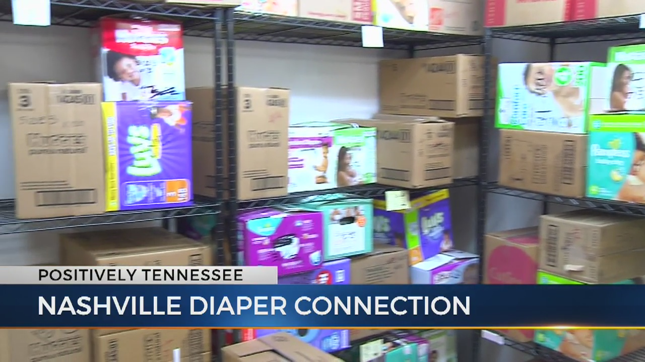 Man starts nonprofit to make sure all Nashville children have clean diapers