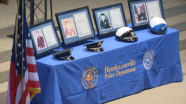 Hendersonville Police Department, Peace Officers Memorial Day_409496
