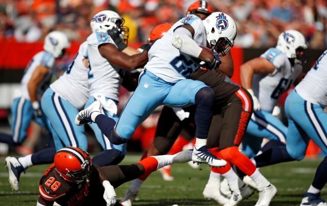 Titans Browns Football_454108