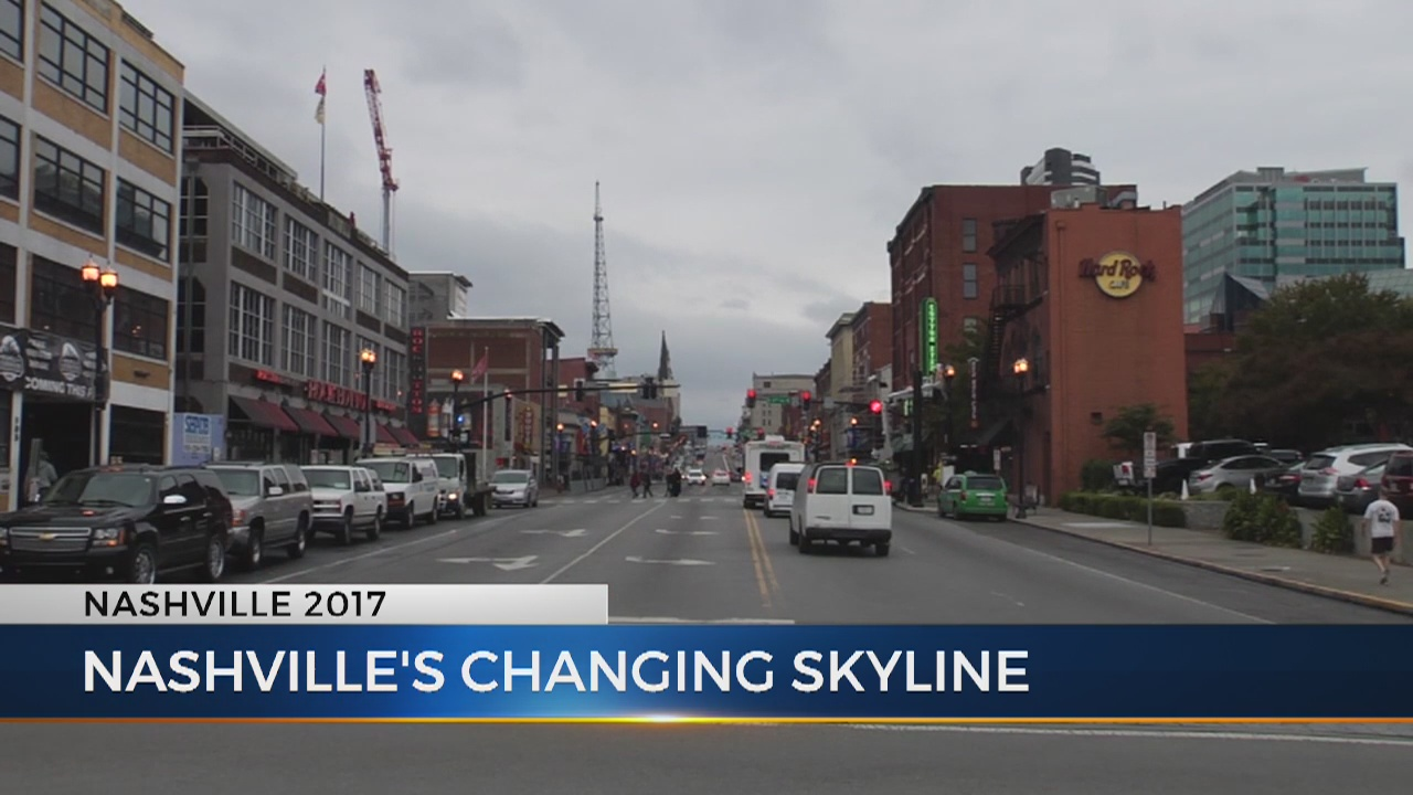 Downtown Nashville leads the way in city's revitalization