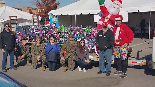Toys for Tots bicycles_461033