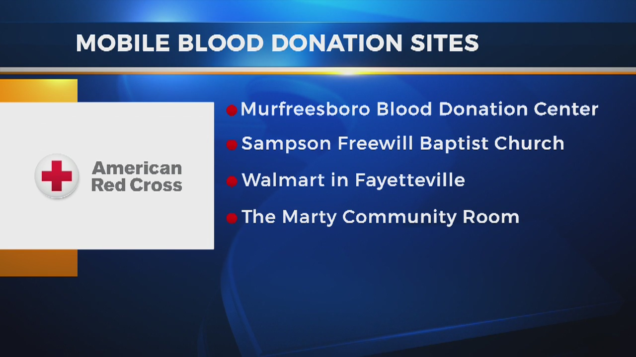 News 2 teams up with American Red Cross for blood drive