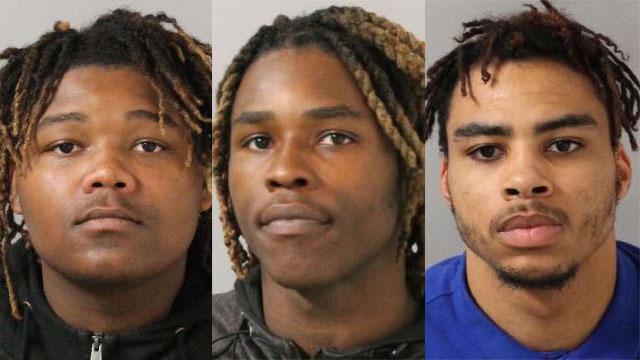 Robbery suspects Joshua Holden, John Holden, Jr., Brian Love_470548