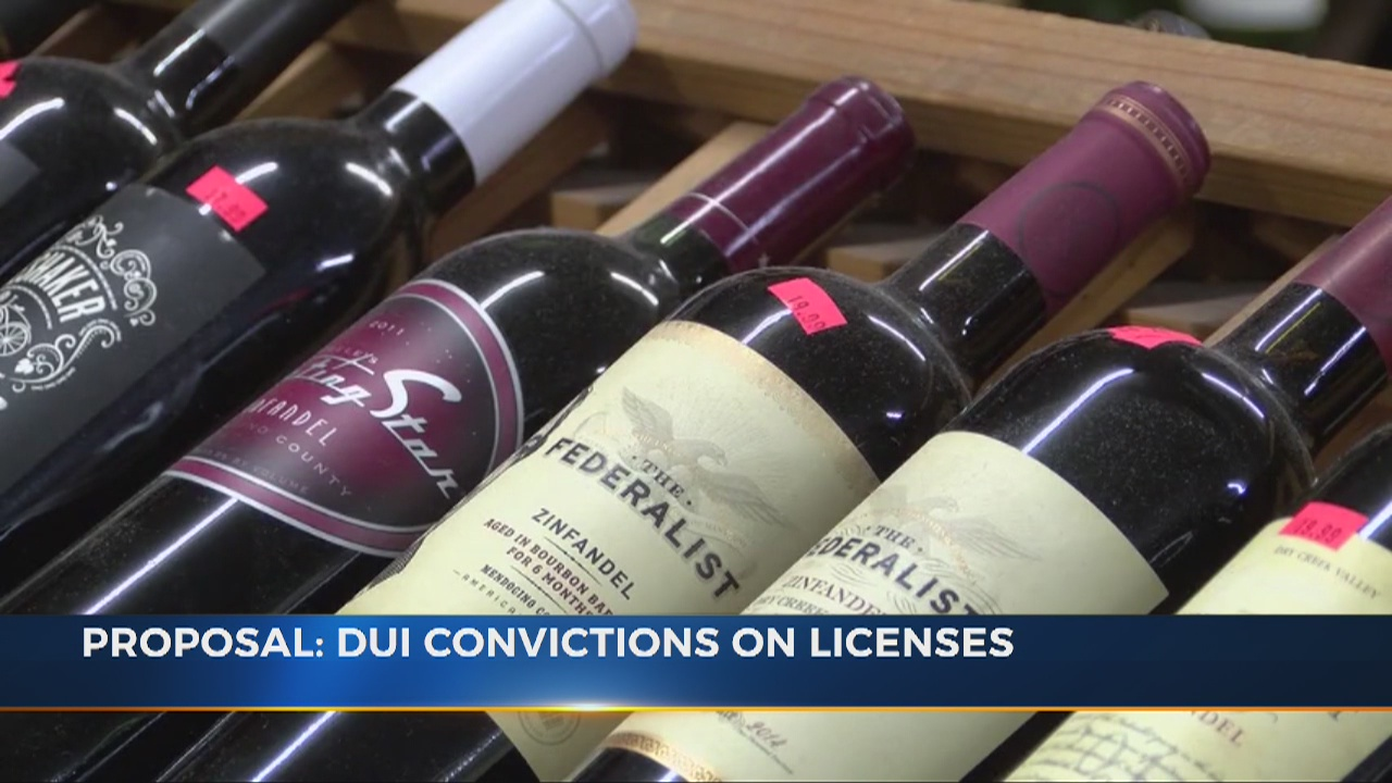 New bill would mark licenses of DUI offenders, prevent sale of alcohol