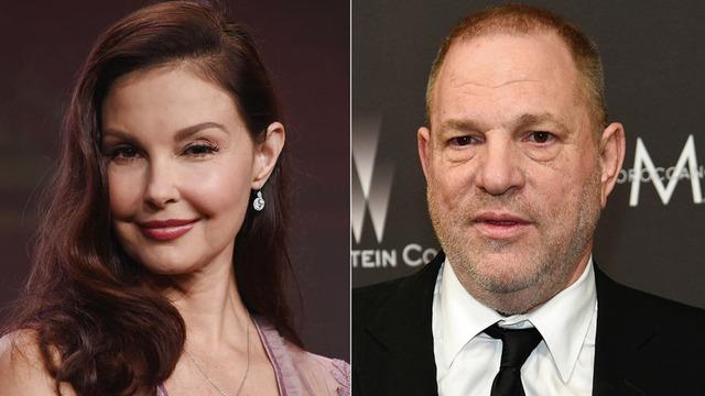 Ashley Judd and Harvey Weinstein