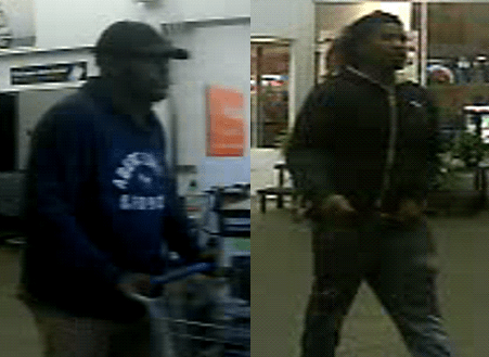 Two suspects in stolen SUV, credit cards case
