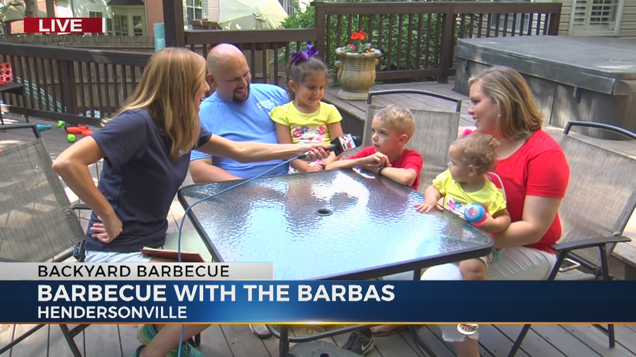 Danielle Breezy hosts BBQ in Hendersonville