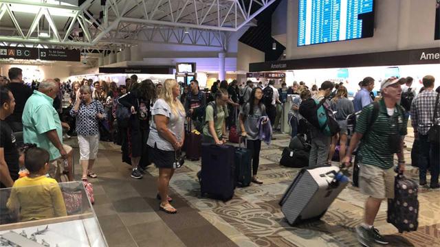 BNA check in Nashville airport