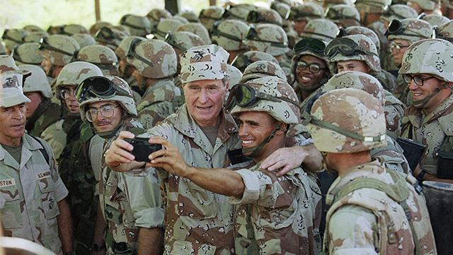 George HW Bush 1993