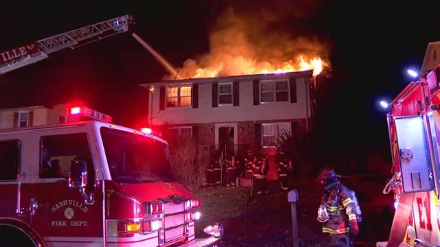 Bethwood Drive fire