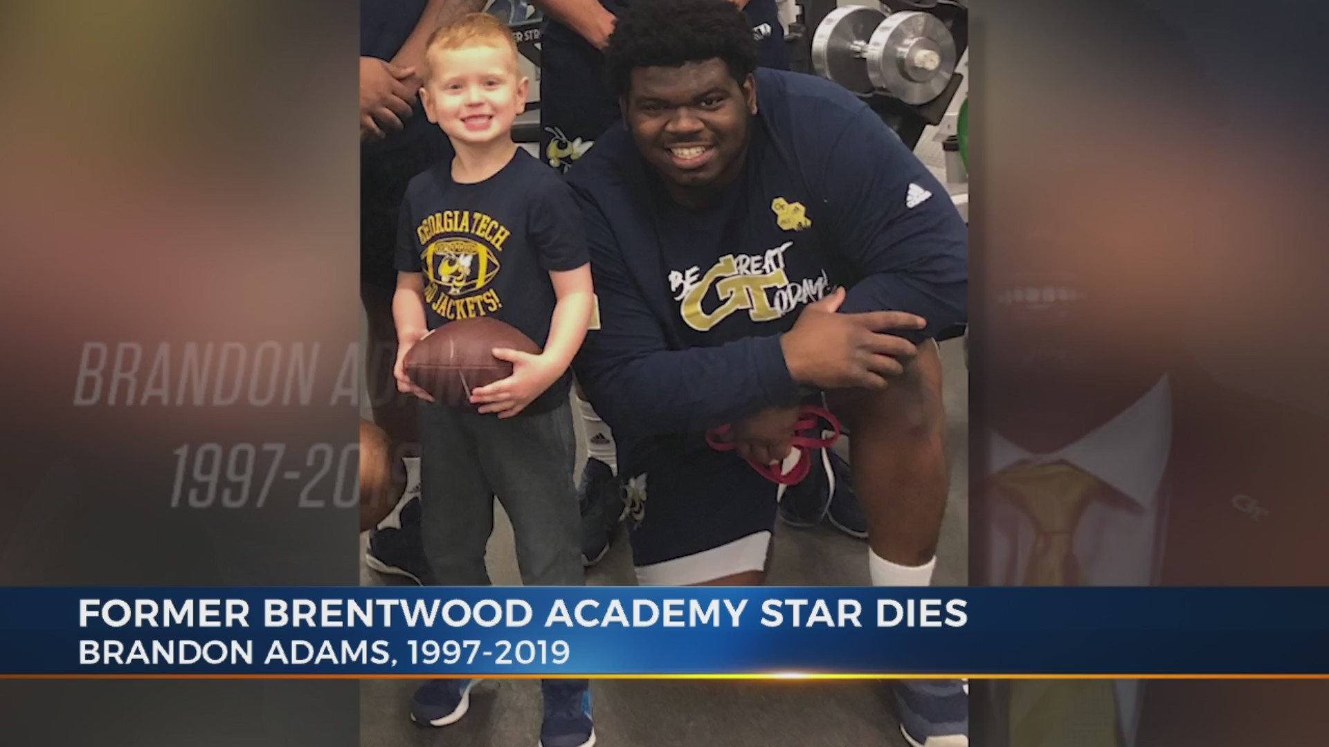 Community mourns loss of former Brentwood Academy player