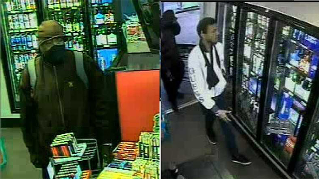 South Nashville gas station robbery suspects