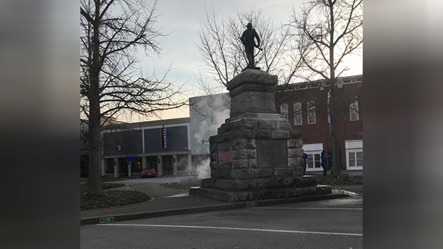 Murfreesboro statue vandalized