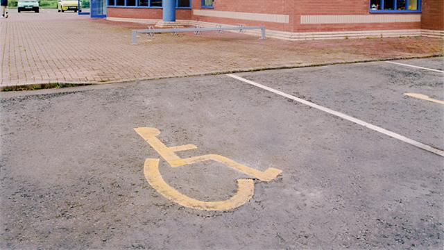 handicap spot generic