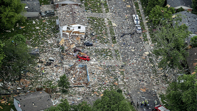 Indiana home explosion