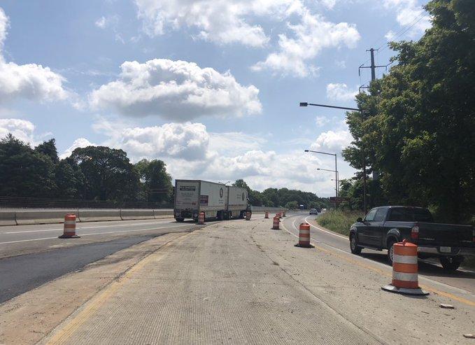 I-24 East in Murfreesboro closed due to crash, alternate route