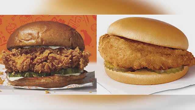 Chicken sandwich war