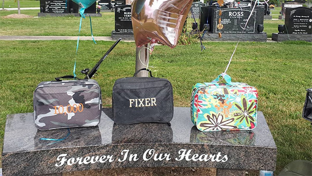 lunchbox tombstone