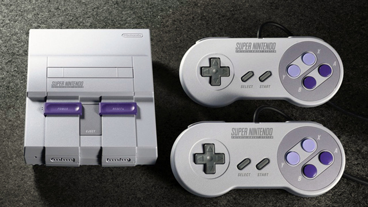 Nintendo rewinds time back to 1990 with old SNES games