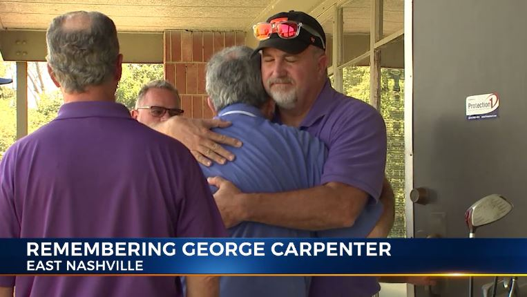 Golfers remember George Carpenter