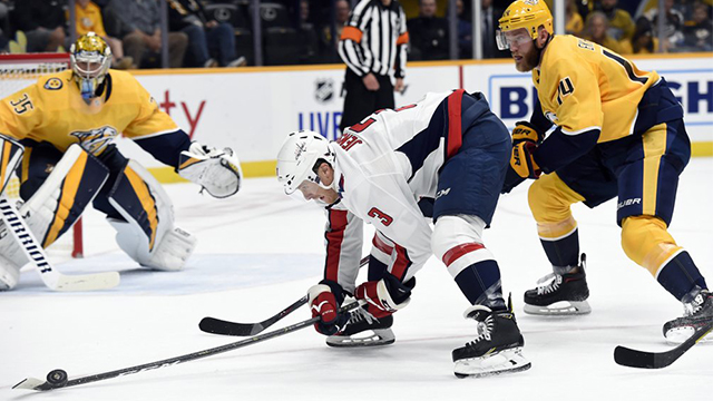 Preds beat Capitals