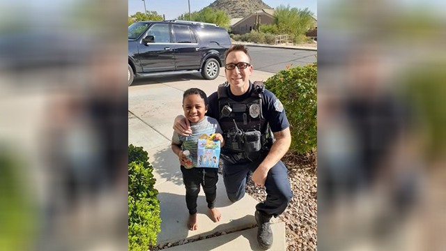 Boy calls 911 for happy meal