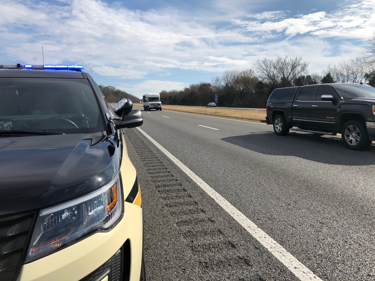 THP trooper makes traffic stop