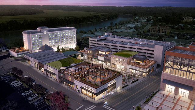 Clarksville Riverview mixed use