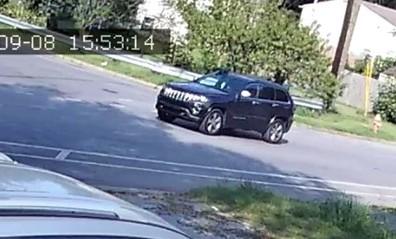 Suspect Jeep Cherokee Demarcus Thompson