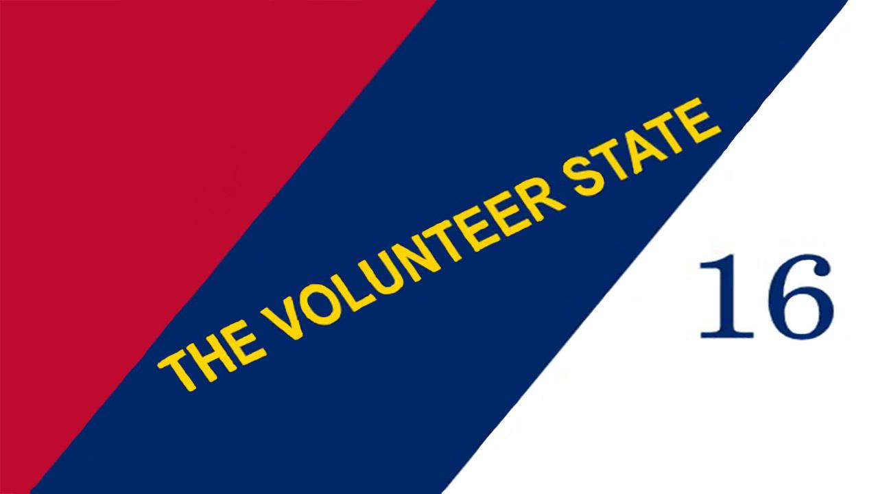 Volunteer State Flag 1897