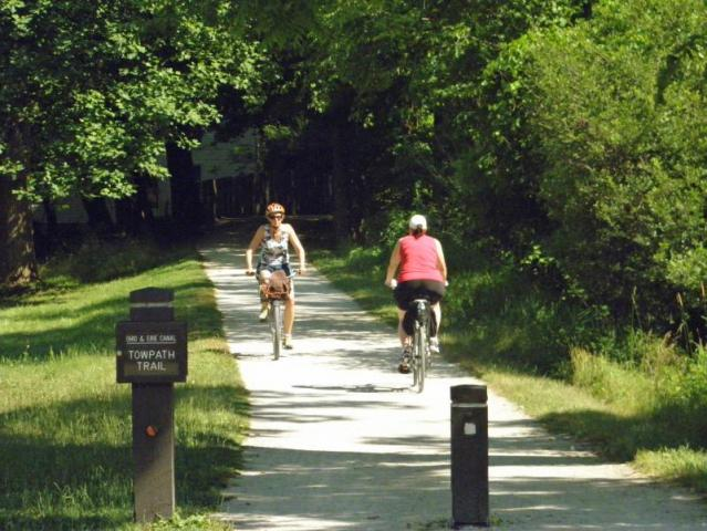 Cuyahoga Bike Trail Map