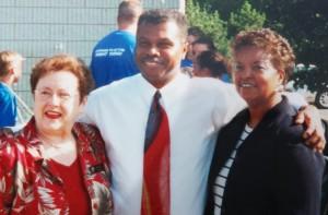 Judith with former Kentwood Mayor Bill Hardiman and his wife Clova.