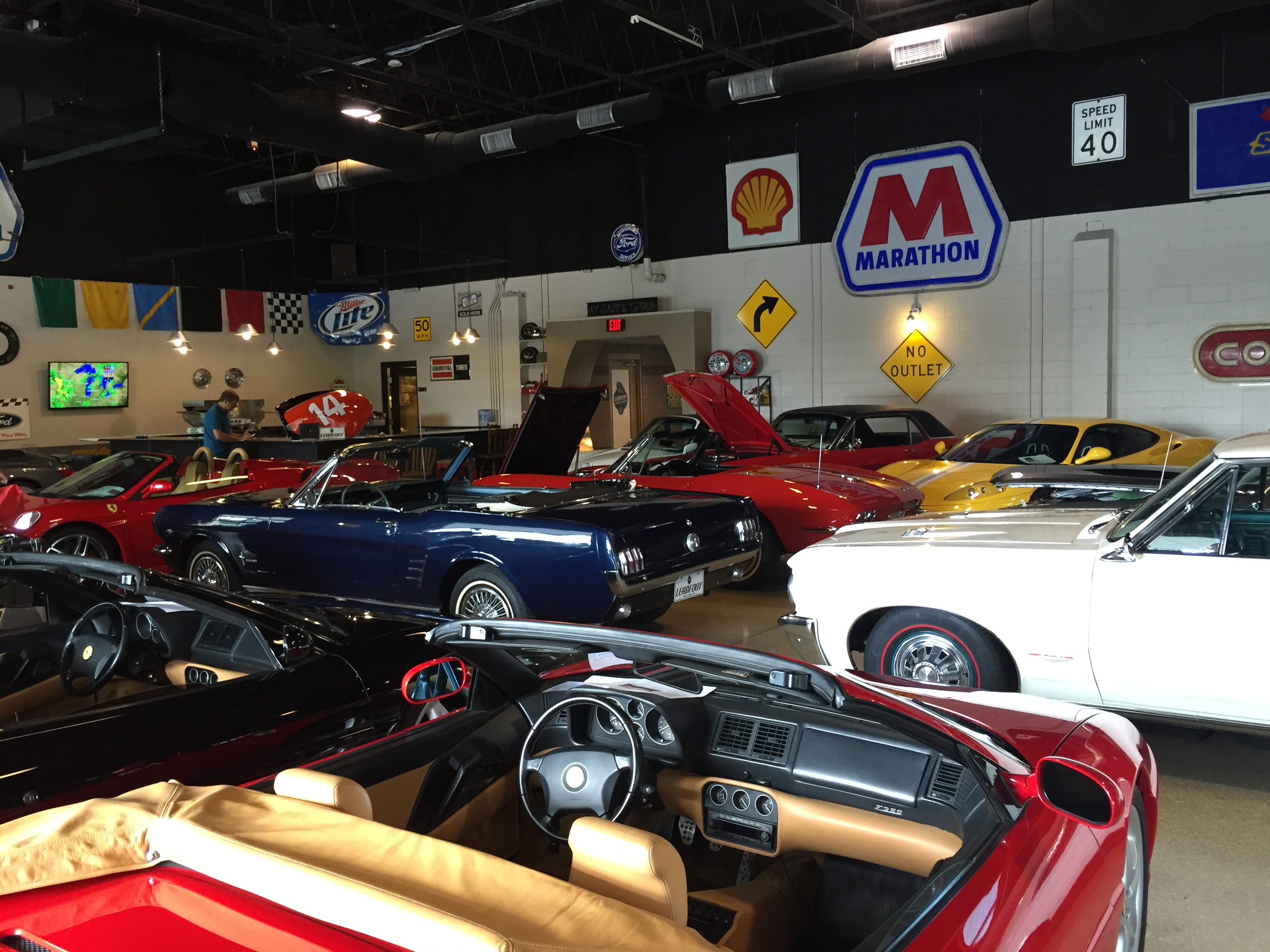 Classic Cars and Renovations abound at Leadfoot Muscle Cars ...