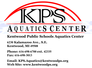 KPS Aquatics Center logo