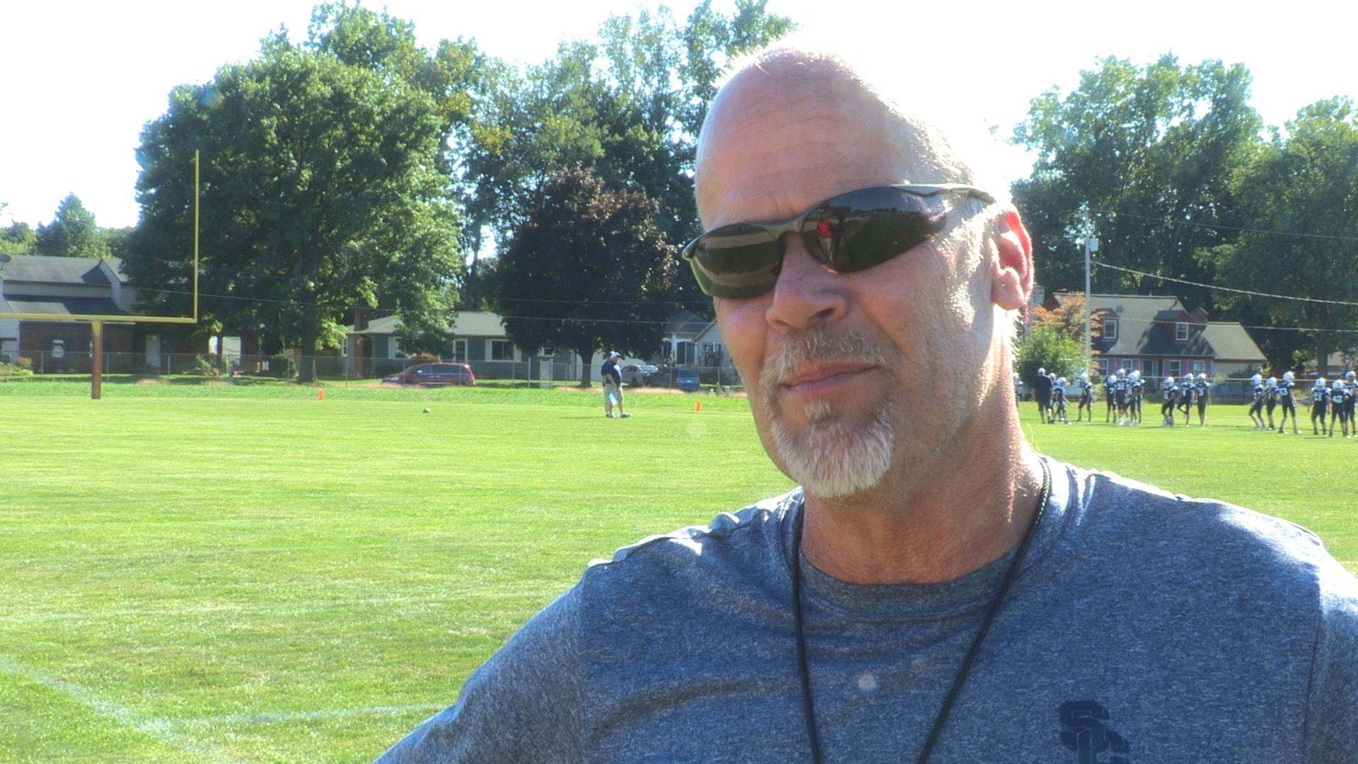 South Christian High School Football Head Coach Mark Tamminga WKTV