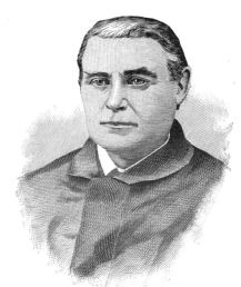 Costney L. Egan, O.P., chaplain of the 9th Massachusetts (originally published in William Corby's Memoirs).