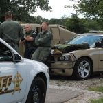 SWAT team members debrief after Tuesday's call-out in North Judson.