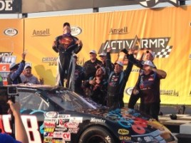 Mason Mitchell shows how super his win really was