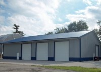 The new maintenance building in North Judson is located just west of downtown on Railroad Street.