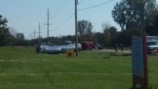 The Starke County Sheriff's Department hopes to release the name of the person killed in this Monday crash at the intersection of State Road 10 and Range Road later today.