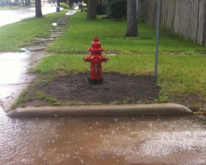 The Knox Water Department recently replaced the hydrant at Delaware and Main Streets.