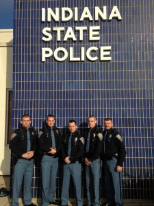 Probationary Troopers Carlson, Adam, Alberts, Brasseur, and Crowder
