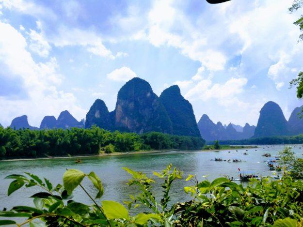 漓江沿途风景