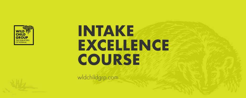 Intake Excellence course