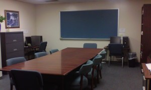 The conference room where we met