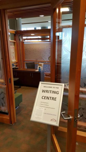 The UBC Writing Centre; Photo courtesy of Cole Klassen